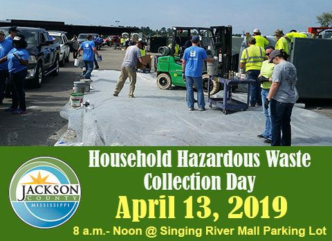 Household Hazardous Waste Collection Day Notice