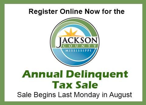 Annual Sale of Delinquent Taxes | Jackson County, MS