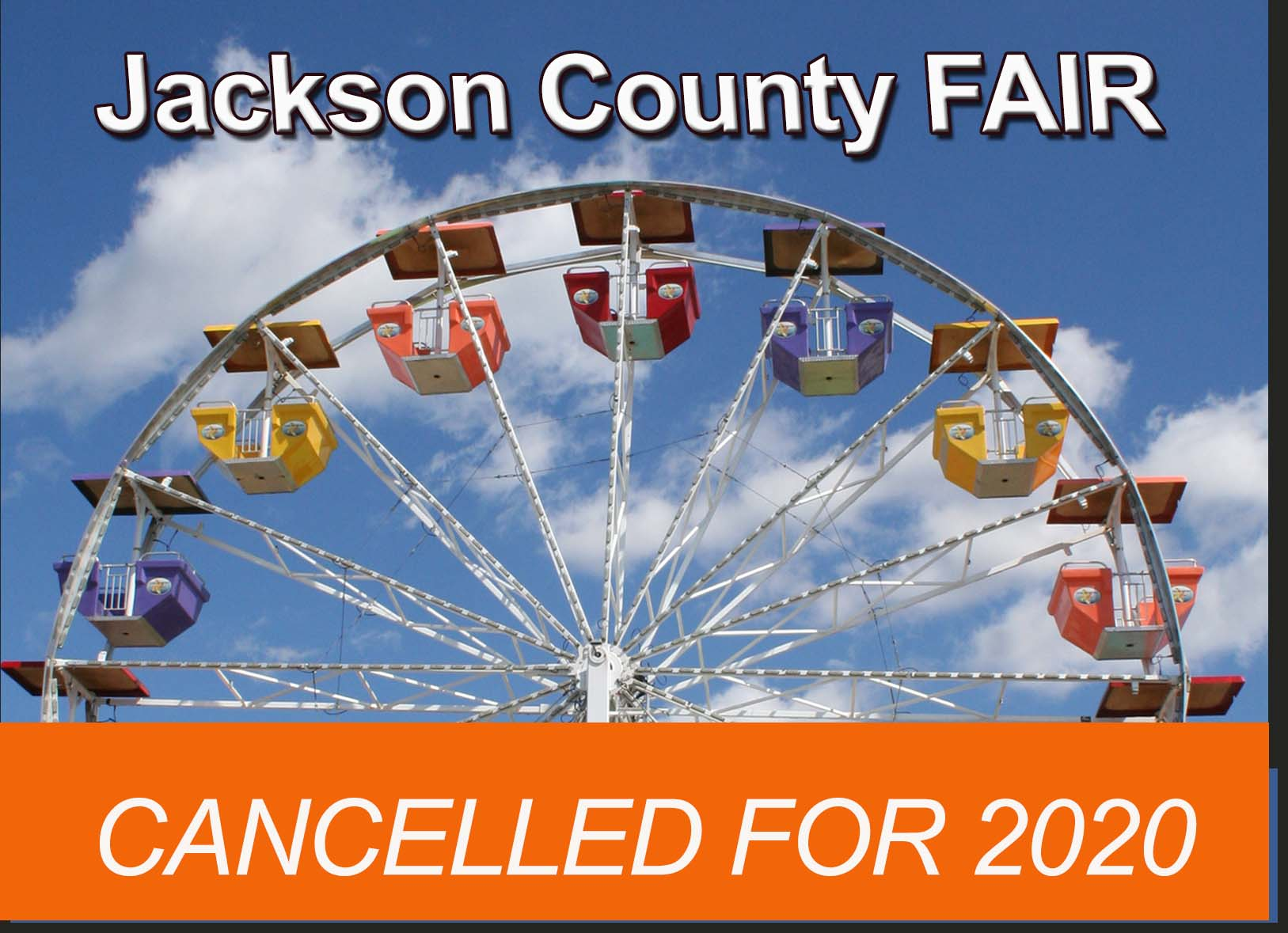 Jackson County Fair Cancelled 2020